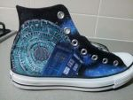 Moar Dr. Who Shoes by GamerGirl84244
