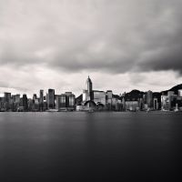 Hong Kong Skyline by apoy