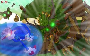Sonic vs Timberwolf - Boss Battle by Snicketbar
