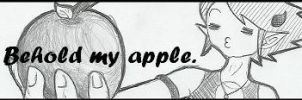 Behold My Apple by Cao