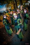 Kyoshi Warriors 4 - Avatar: The Last Airbender by TsukiAnni