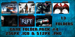 Game Folder Pack 4 13 Folders by floxx001