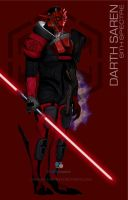 Star Wars Mass Effect Crossover Darth Saren by rs2studios