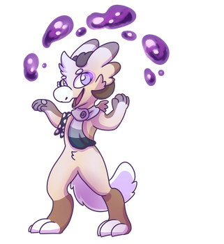 Vier- Gift by Pixel-Coyote
