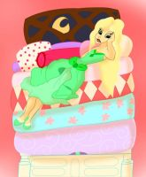 The princess and the pea by MagykDisneyRide