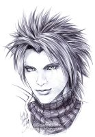 FF7 - ZACK Fair - Pen by Washu-M