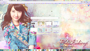 Yuki Kashiwagi Chrome Theme 1 by akiyan726