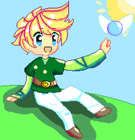 Pixel Link by Bunni-Hat
