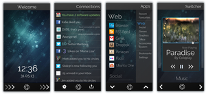 Phone OS Concept by TheVirtualDragon