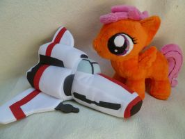 Scoots the Viper Pilot by caashley