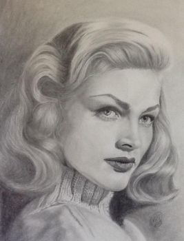 Lauren Bacall by Krtlegal