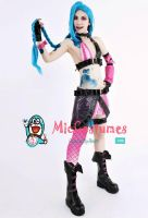 League of Legends Loose Cannon Jinx Cosplay Co by miccostumes