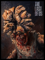 Clicker-The Last of Us, fan art by BrandonStricker