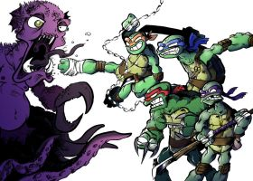 Tmnt KOWABUNGA by earthwar-jim
