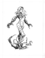 Witchblade commission 10 by Xenomrph