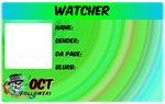 2011 ID Badge Watcher by TeaKayBlue