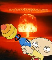 atomic stewie by MichealTorres