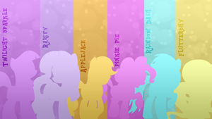 Wallpaper #16 (Mane 6) by Lightslash