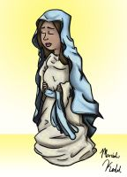 Virgin Mary by Mariah-K