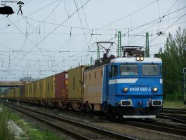 GFR Asea -40 0682-5- with a goods train in Gyor by morpheus880223