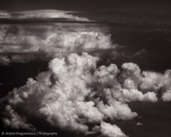 Low Altitude Clouds (bw) by DrAndrei