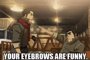 Mako's eyebrows by Dauntlesse