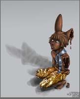 Easter '10 ::: Chocobunny Melt by xViolinistBAKA