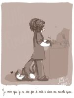 Le chat approuve. by Little-Roisin