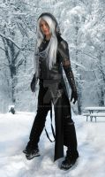 black denim and leatherette  ((c) Elven Eclipse by edmona1980