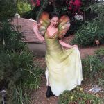 Dilophosaurus Gown also known as Dinosaur Cosplay! by glimmerwood