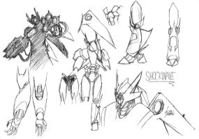 TFP - Shockwave Sketches by pika