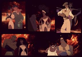 Muses from Hercules by identity511