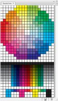CMYK Colorwheel Swatch for PS by Monkeyslunch