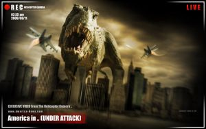 "America in .. ""UNDER ATTACK"" by SALAM-SOL"