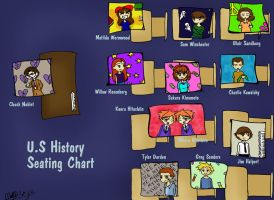 U.S. History Seating Chart by AlexisRoyce