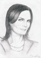 Emily Deschanel  - Temperance Brennan by IgnisD15
