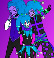 The 3  versions of pop by Jesterca