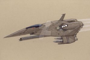 FA-29 Talon Fighter-Bomber by Jepray