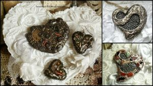 Necklaces Heart by MrsEfi