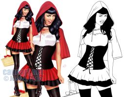Red Riding Hood by jocachi