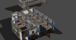 RE4 CASTLE ROOMS by Oo-FiL-oO