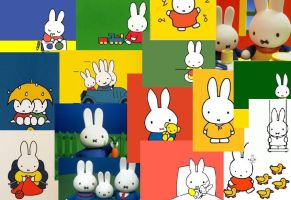 miffy collage by buttonsthegreat