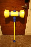 Power Puff Girls Z Buttercup Hammer by OneMoreTimeCosplay