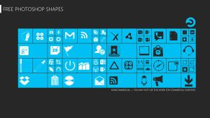 Free Photoshop Shapes Pack 2 by sharkurban