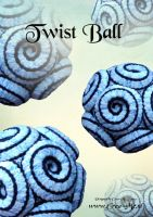 Twist Ball by CreaMePatterns