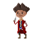 Pixel Fallout - Hancock by maicakes