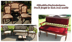 Vintage chairs stock by Miha3lla