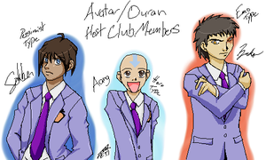 Avatar High School Host Club by yami0204