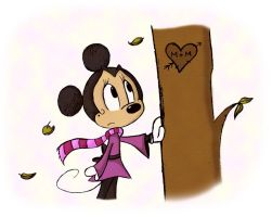 Minnie's Loneliness by CookieCruise
