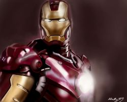Iron Man: helmet and armor by shiprock